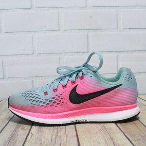 NIKE Zoom Pegasus 34 Lace-up Running Shoes Sz 7.5